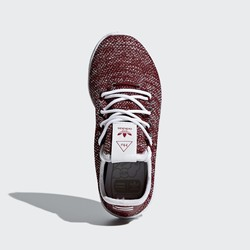 Fiu Adidas Pharrell Williams Tennis Hu Originals Cipő Bordeaux Piros Fehér | 493LGCDV